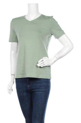 Γυναικείο t-shirt Christian Berg, Μέγεθος L, Χρώμα Πράσινο, 95% βαμβάκι, 5% ελαστάνη, Τιμή 10,39€