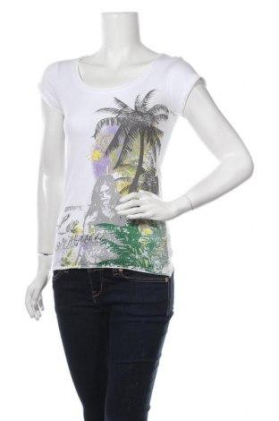 Дамска тениска Colours Of The World, Размер XS, Цвят Бял, Памук, Цена 15,17лв.