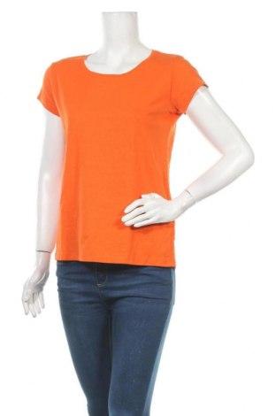 Дамска тениска Colours Of The World, Размер M, Цвят Оранжев, 96% памук, 4% еластан, Цена 13,39лв.