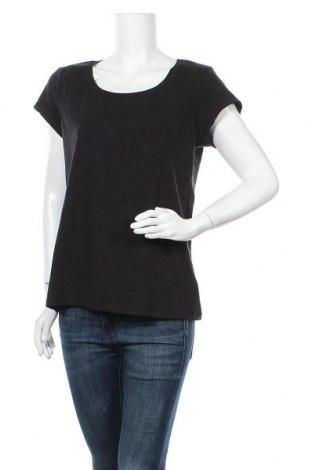 Дамска тениска Colours Of The World, Размер XL, Цвят Черен, 95% памук, 5% еластан, Цена 15,17лв.