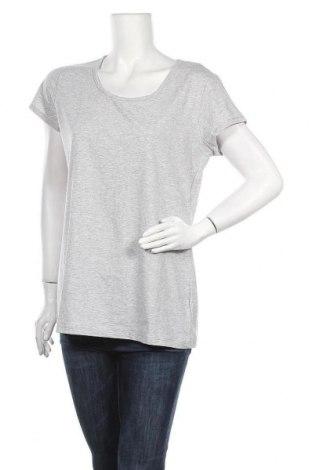 Дамска тениска Colours Of The World, Размер XXL, Цвят Сив, 75% памук, 20% полиестер, 5% еластан, Цена 10,71лв.