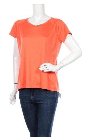 Дамска тениска Columbia, Размер L, Цвят Оранжев, Полиестер, Цена 26,78лв.