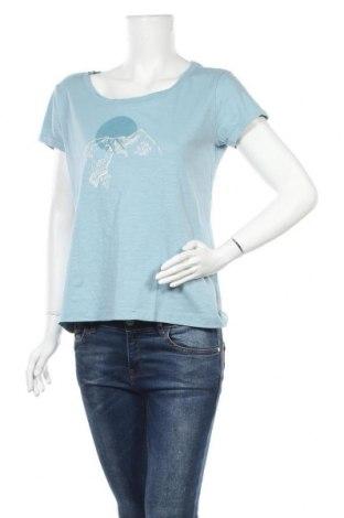 Γυναικείο t-shirt Crane, Μέγεθος M, Χρώμα Μπλέ, Βαμβάκι, Τιμή 7,79€