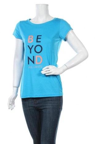 Дамска тениска Crane, Размер L, Цвят Син, Полиестер, Цена 13,44лв.
