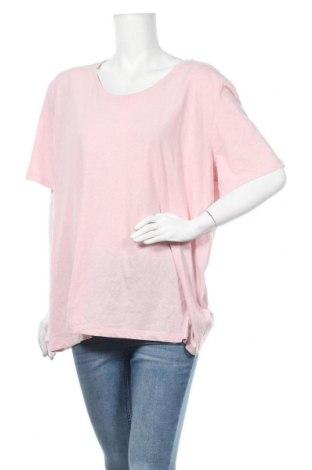 Дамска тениска Crane, Размер XXL, Цвят Розов, 60% памук, 40% полиестер, Цена 14,18лв.