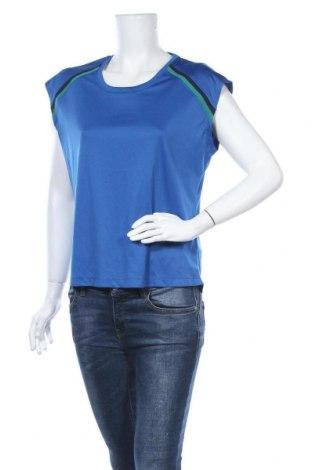 Дамска тениска Crane, Размер M, Цвят Син, Полиестер, Цена 3,94лв.
