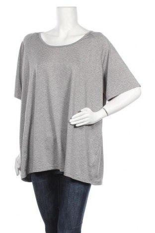 Γυναικείο t-shirt Crane, Μέγεθος 3XL, Χρώμα Γκρί, 95% πολυεστέρας, 5% ελαστάνη, Τιμή 8,64€