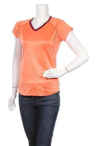 Дамска тениска Crivit, Размер M, Цвят Оранжев, 82% полиестер, 18% еластан, Цена 4,41лв.
