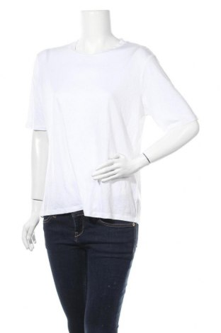 Γυναικείο t-shirt Cubus, Μέγεθος XL, Χρώμα Λευκό, Τενσελ, Τιμή 8,64€