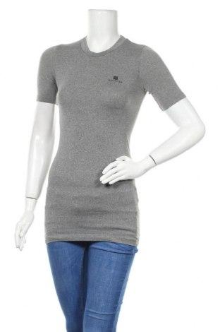 Дамска тениска Domyos, Размер S, Цвят Сив, Цена 11,76лв.
