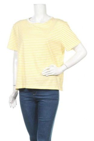 Γυναικείο t-shirt Dr. Denim, Μέγεθος L, Χρώμα Λευκό, Βαμβάκι, Τιμή 8,31€