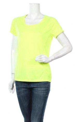 Дамска тениска Ergee, Размер XL, Цвят Жълт, Полиестер, Цена 9,98лв.