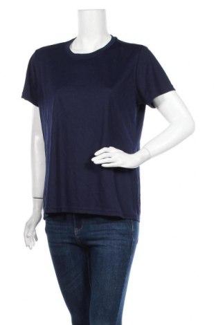 Γυναικείο t-shirt Extreme, Μέγεθος L, Χρώμα Μπλέ, Πολυεστέρας, Τιμή 9,87€