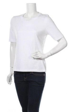 Γυναικείο t-shirt Fabiani, Μέγεθος M, Χρώμα Λευκό, Βαμβάκι, Τιμή 9,74€