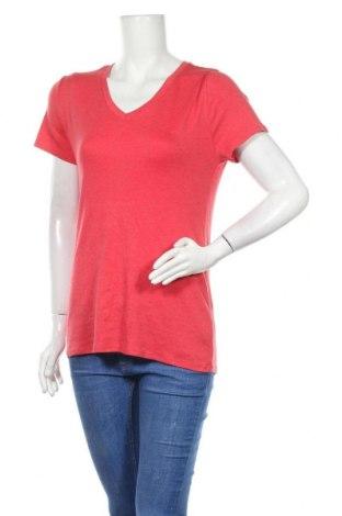 Γυναικείο t-shirt Faded Glory, Μέγεθος L, Χρώμα Κόκκινο, 58% βαμβάκι, 39% πολυαμίδη, 3% ελαστάνη, Τιμή 10,49€