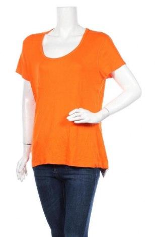 Γυναικείο t-shirt Faded Glory, Μέγεθος XL, Χρώμα Πορτοκαλί, 60% βαμβάκι, 40% μοντάλ, Τιμή 11,69€