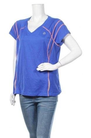 Дамска тениска Fila, Размер XL, Цвят Син, Полиестер, еластан, Цена 11,60лв.