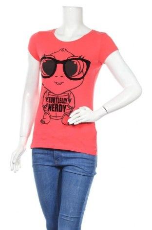 Γυναικείο t-shirt Fishbone, Μέγεθος S, Χρώμα Κόκκινο, Τιμή 11,04€