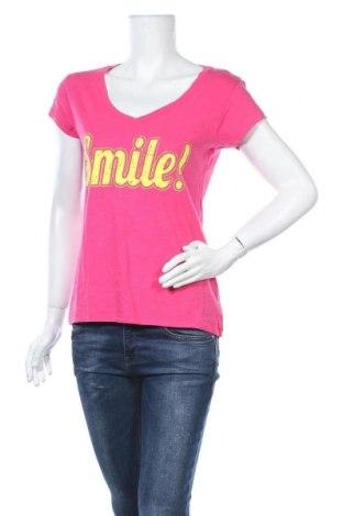 Γυναικείο t-shirt Fishbone, Μέγεθος M, Χρώμα Ρόζ , Τιμή 8,64€