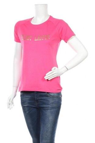 Дамска тениска Fruit Of The Loom, Размер M, Цвят Розов, Полиестер, Цена 4,20лв.