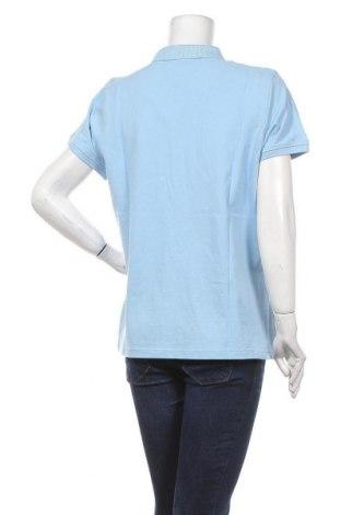 Дамска тениска Gant, Размер XXL, Цвят Син, Памук, Цена 53,36лв.