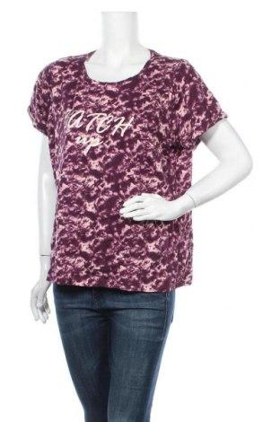 Γυναικείο t-shirt George, Μέγεθος XXL, Χρώμα Βιολετί, Βαμβάκι, Τιμή 11,72€