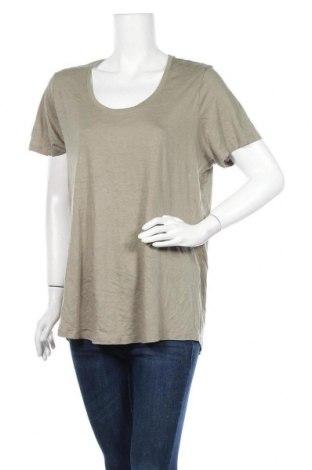 Γυναικείο t-shirt George, Μέγεθος XL, Χρώμα Πράσινο, 55% βαμβάκι, 45% μοντάλ, Τιμή 11,04€
