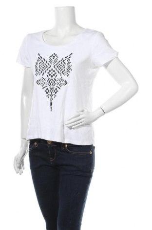 Γυναικείο t-shirt Gerry Weber, Μέγεθος M, Χρώμα Λευκό, Τιμή 14,36€