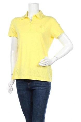 Γυναικείο t-shirt Gerry Weber, Μέγεθος L, Χρώμα Κίτρινο, 92% βαμβάκι, 8% ελαστάνη, Τιμή 13,25€