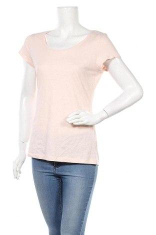 Γυναικείο t-shirt H&M L.O.G.G., Μέγεθος L, Χρώμα Ρόζ , Βαμβάκι, Τιμή 10,39€