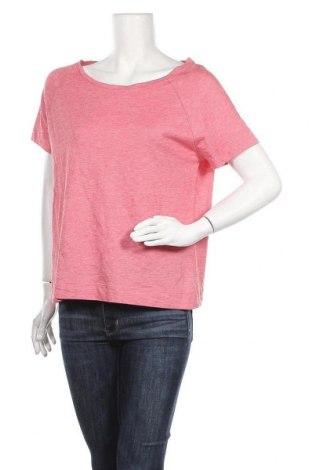 Дамска тениска Heidi, Размер M, Цвят Червен, 50% памук, 50% модал, Цена 13,23лв.