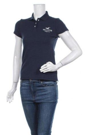 Дамска тениска Hollister, Размер S, Цвят Син, 96% памук, 4% еластан, Цена 24,48лв.