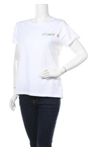 Γυναικείο t-shirt Hunkemoller, Μέγεθος M, Χρώμα Λευκό, Βαμβάκι, Τιμή 8,63€