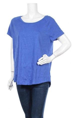 Γυναικείο t-shirt Hyba, Μέγεθος XXL, Χρώμα Μπλέ, 95% βαμβάκι, 5% ελαστάνη, Τιμή 10,49€