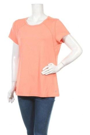 Γυναικείο t-shirt Hyba, Μέγεθος XL, Χρώμα Πορτοκαλί, 92% πολυεστέρας, 8% ελαστάνη, Τιμή 11,72€