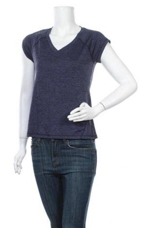 Дамска тениска Ideology, Размер S, Цвят Син, Полиестер, Цена 4,73лв.