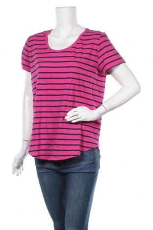 Γυναικείο t-shirt Joe Fresh, Μέγεθος L, Χρώμα Βιολετί, Βαμβάκι, Τιμή 9,94€
