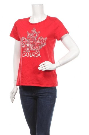 Γυναικείο t-shirt Joe Fresh, Μέγεθος L, Χρώμα Κόκκινο, Βαμβάκι, Τιμή 9,87€