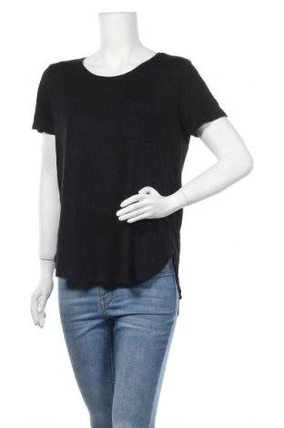 Γυναικείο t-shirt Joe Fresh, Μέγεθος L, Χρώμα Μαύρο, Βισκόζη, Τιμή 9,74€