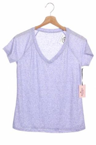 Γυναικείο t-shirt Juicy Couture, Μέγεθος XS, Χρώμα Βιολετί, 85% πολυεστέρας, 15% λινό, Τιμή 34,33€