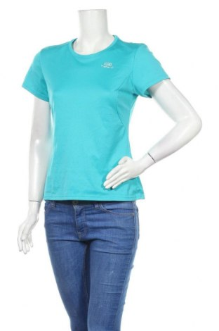 Дамска тениска Kalenji, Размер M, Цвят Син, Цена 8,40лв.
