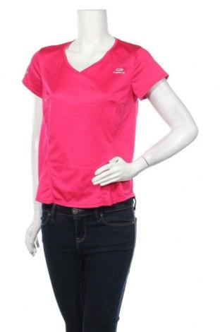 Дамска тениска Kalenji, Размер M, Цвят Розов, Цена 9,45лв.