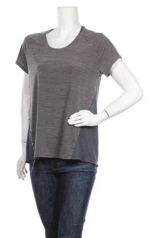 Дамска тениска Kalenji, Размер XL, Цвят Сив, Цена 13,44лв.