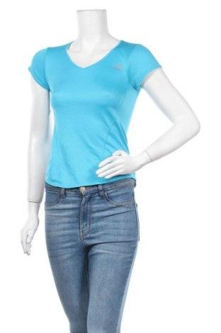 Дамска тениска Kalenji, Размер XS, Цвят Син, Полиестер, Цена 11,34лв.