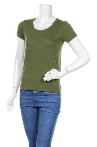 Γυναικείο t-shirt Kookai, Μέγεθος S, Χρώμα Πράσινο, Τιμή 8,18€