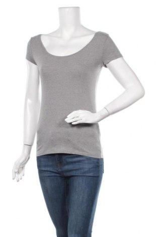 Γυναικείο t-shirt La Redoute, Μέγεθος S, Χρώμα Γκρί, 95% βαμβάκι, 5% ελαστάνη, Τιμή 8,18€