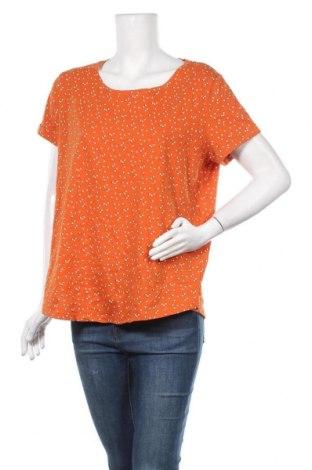 Γυναικείο t-shirt Laura Torelli, Μέγεθος L, Χρώμα Πορτοκαλί, Βαμβάκι, Τιμή 9,94€