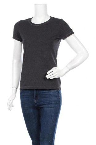 Γυναικείο t-shirt Maddison, Μέγεθος S, Χρώμα Γκρί, 95% βαμβάκι, 5% ελαστάνη, Τιμή 9,38€