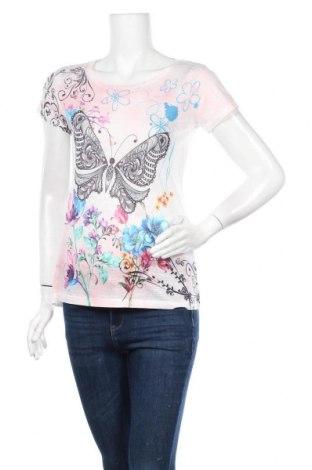 Γυναικείο t-shirt Madonna, Μέγεθος M, Χρώμα Πολύχρωμο, 95% πολυεστέρας, 5% ελαστάνη, Τιμή 8,83€
