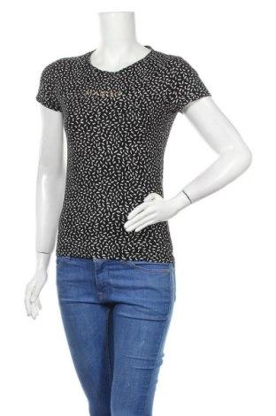 Дамска тениска Mango, Размер S, Цвят Черен, Памук, Цена 13,50лв.